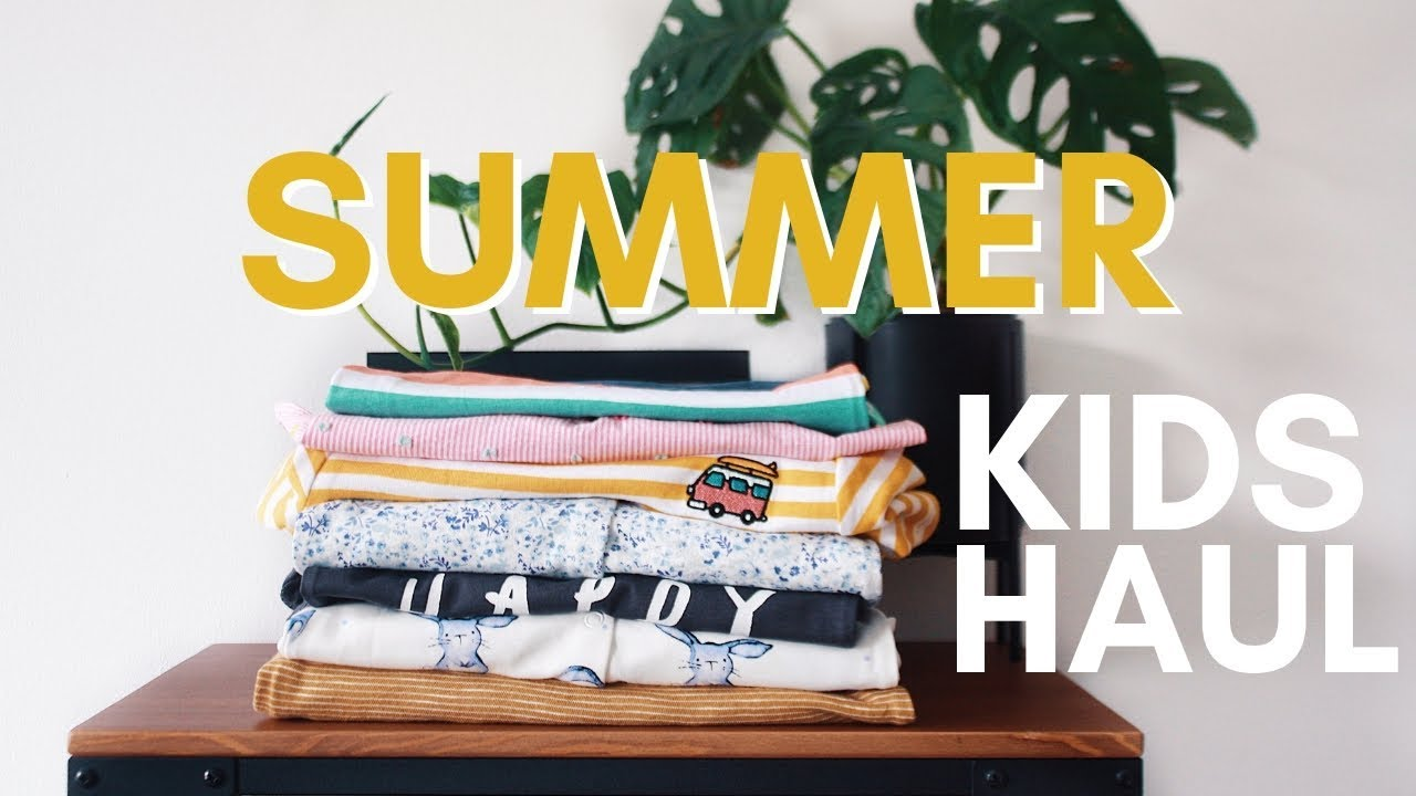538c0d00e8 Summer Baby/Toddler Clothing Haul 2019 - H&M, ZARA, NEXT || with Lizzie