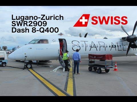 Flight Report: Lugano-Zurich Swiss Dash 8-Q400 Economy