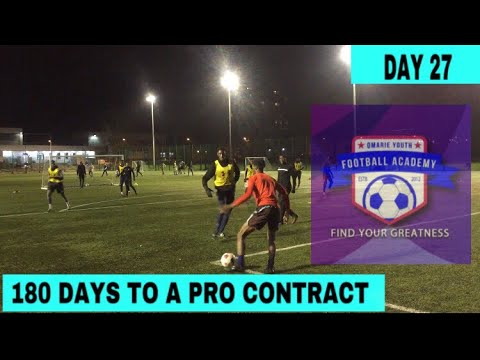 TRAINING WITH A FOOTBALL ACADEMY | DAY 27