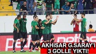 Galatasaray'a Manisa'da Büyük Şok