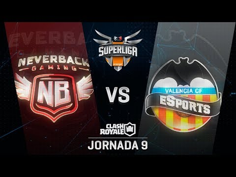SUPERLIGA ORANGE - NEVERBACK GAMING VS VALENCIA CF ESPORTS - Jornada 9 - #SuperligaOrangeCR9