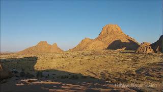 Spitzkoppe, Namibia - video