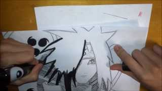 **150+ SUB Special** How to Draw Madara Uchiha- うちはマダラ