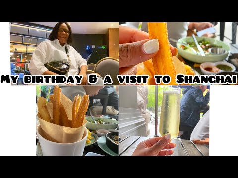 Vlog: My birthday Game Night & | The Shanghai Trip.| Life In China.