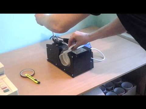 Нанесение фото на кружку. Процесс печати.