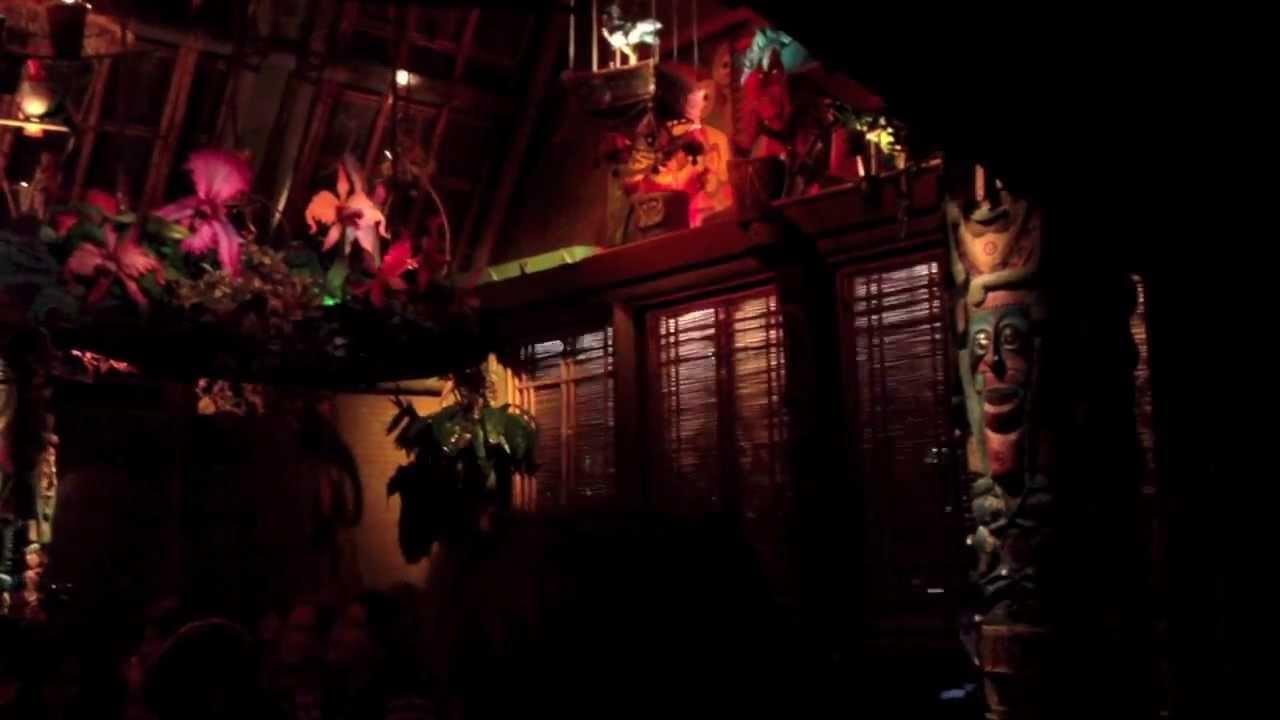 Disneyland Enchanted Tiki Room Finale Scene Youtube