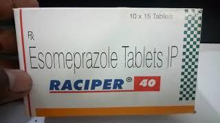 Raciper 40 mg Tablet की जानकारी, लाभ, फायदे, उपयोग, कीमत
