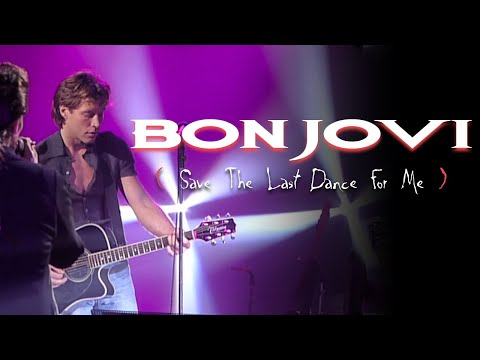 Bon Jovi (Feat. Willy DeVille) - Save The Last Dance For Me (Cover) (Subtitulado)