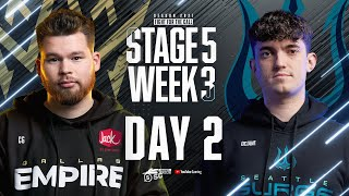 Call Of Duty League 2021 Season | Stage V Week 3 — Seattle Home Series | Day 2