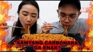 #MUKBANG SAMYANG CARBONARA PAKE KRUPUK BAWANG ? - DM Life Eatingshow