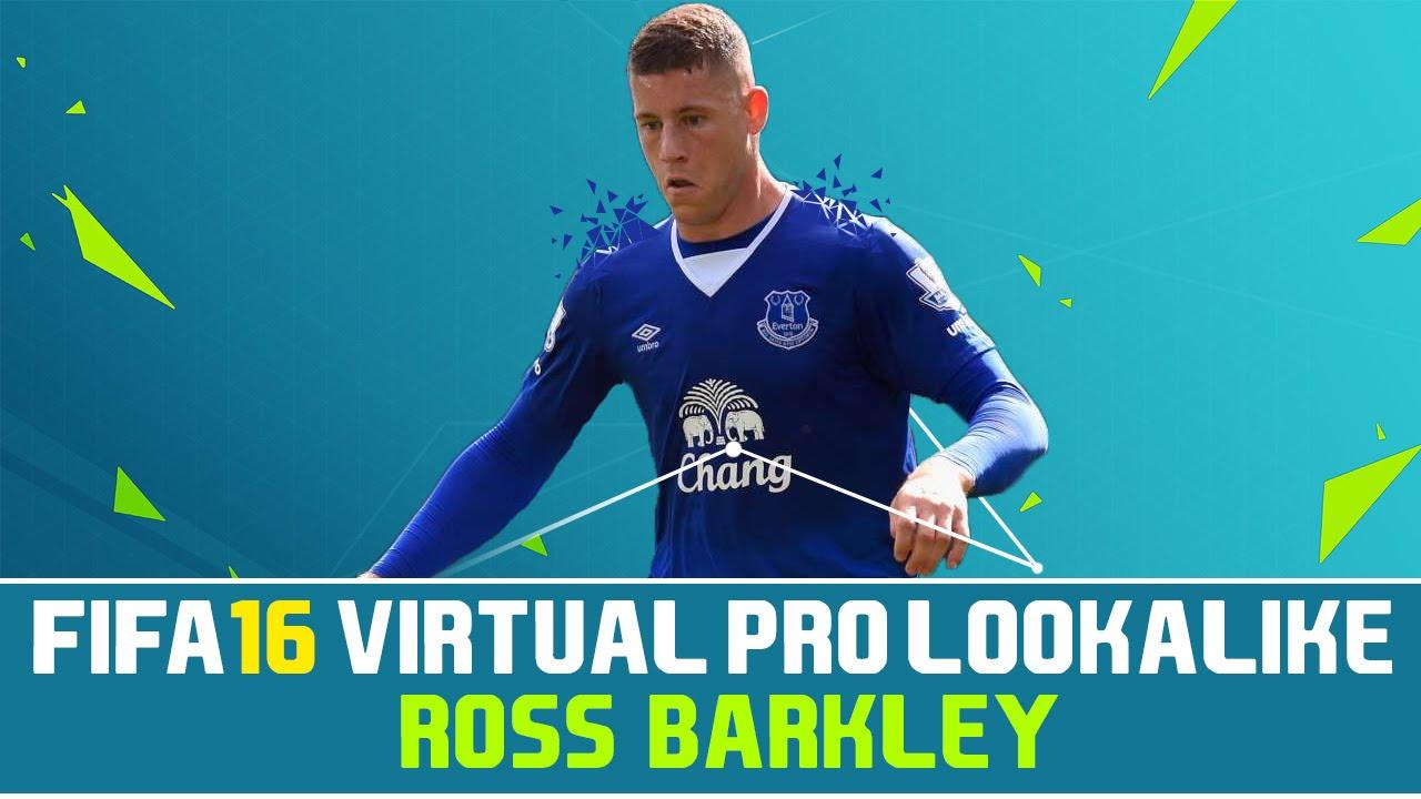 Ross Barkley Fifa 16