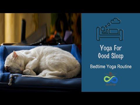 Yoga For Good Sleep | Bedtime Yoga Routine | WorldSleepDay 2021