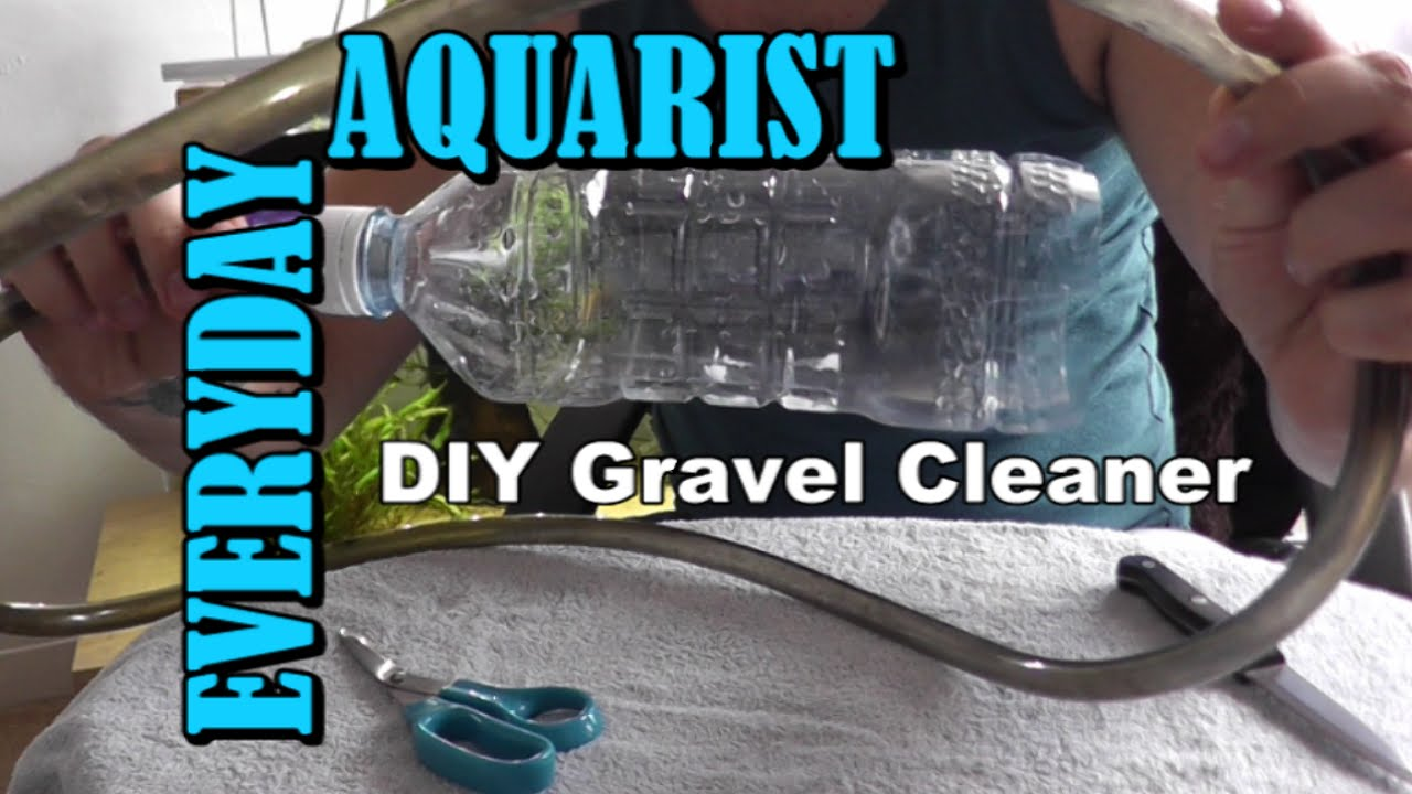 Fish tank gravel cleaner -