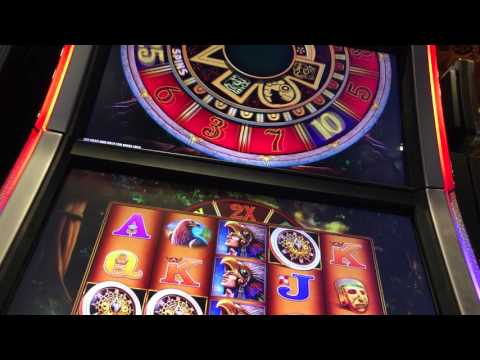 Montezuma Slot Bonus Max Bet with Retriggers!  Harrahs New Orleans