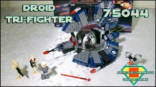 Lego Star Wars Review 75044 Droid Tri-Fighter