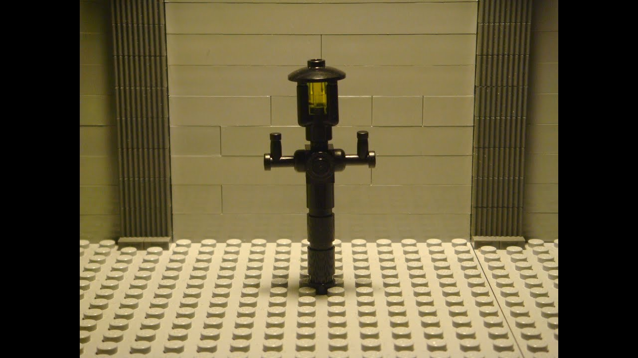 How To Build A Lego Classic Lamp Post