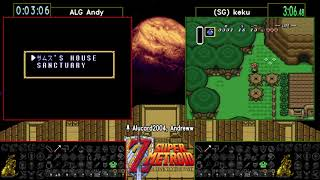 A Link to the Past Super Metroid Crossover Randomizer Showcase Race