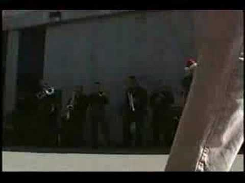 """1st Marine Division Party Band """"Earthquake""""(it Must`ve Been Ol`) Santa Claus 1998"""