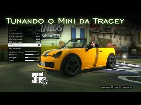 Tunando o Mini da Tracey | GTA V [PT-BR]