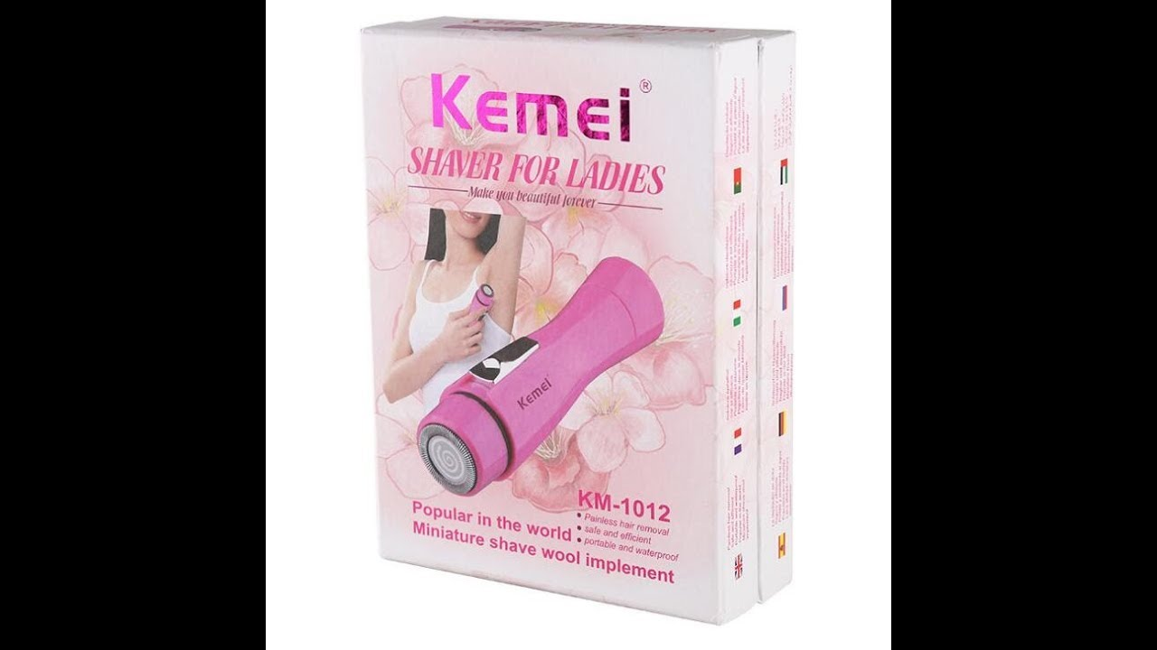 Kemei Km 1012 Lady Hair Removal Epilator Device Youtube