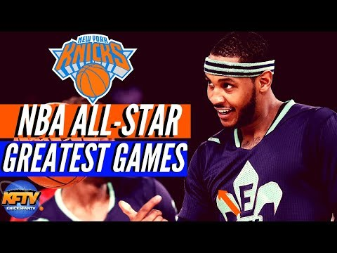 NBA All-Star Game 🔥: Top 5 GREATEST Performances| New York Knicks Edition 🏀