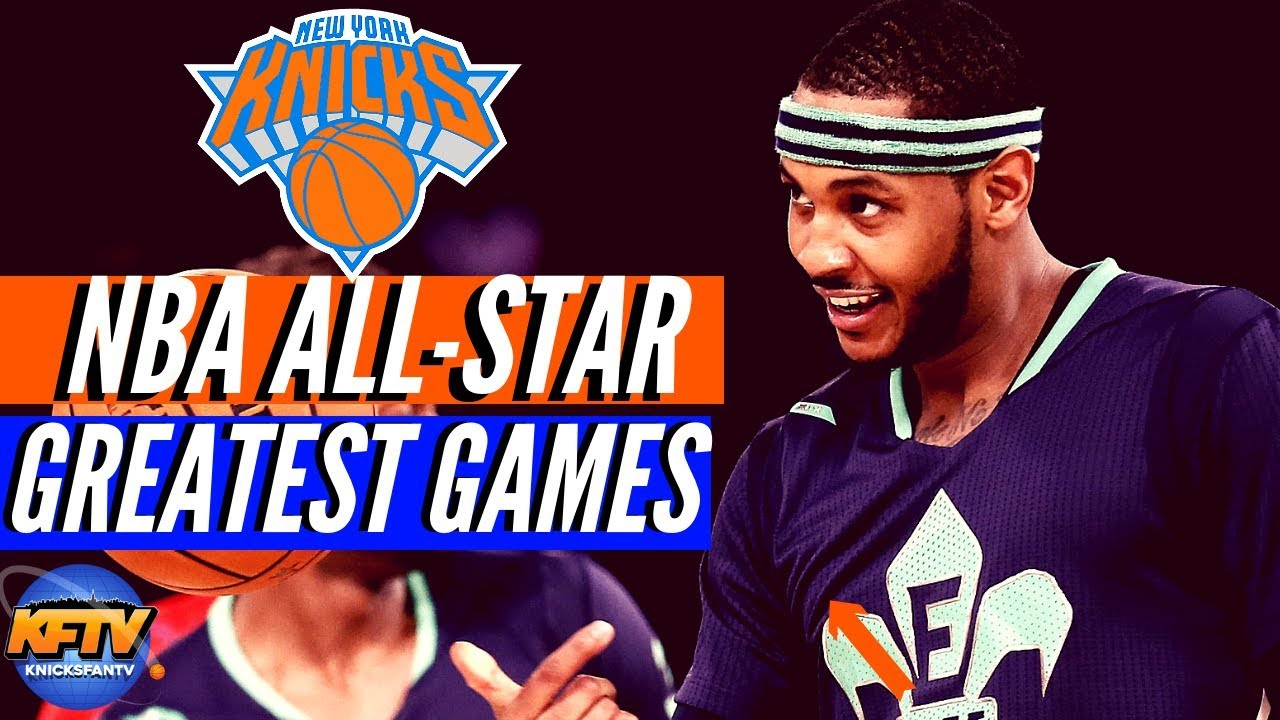 387efc548dd The 5 GREATEST NBA All Star Game Performances 🔥| New York Knicks Edition 🏀