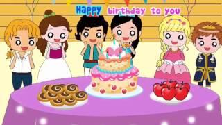 Happy birthday to you [KARAOKE] - Fairy style - Nhạc thiếu nhi hay, học tiếng Anh qua bài hát