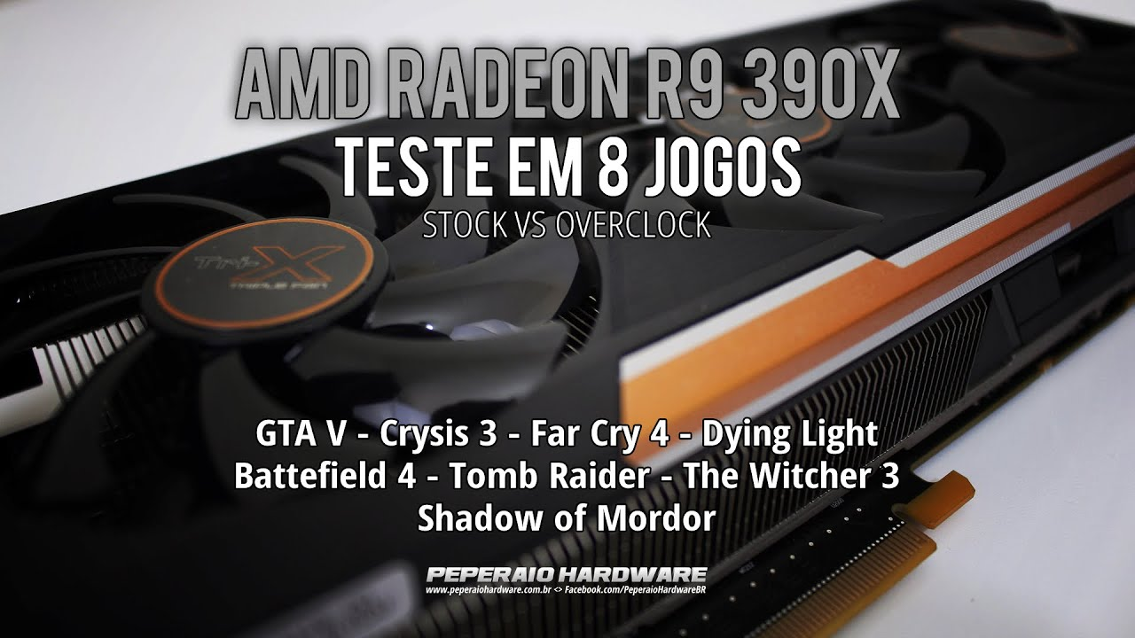 Review: AMD Radeon R9 390x Sapphire Tri-X