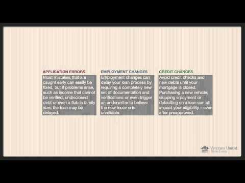 VA Loan Pre-Qualification Pre-Approval