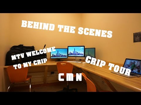 CMN SET TOUR (BEHIND THE SCENES)