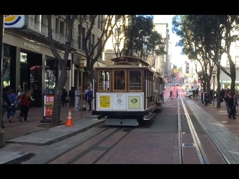 San Francisco Cable Cars: Powell-Hyde Line, Start to Finish