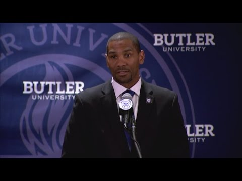 Butler introduces LaVall Jordan as head basketball coach