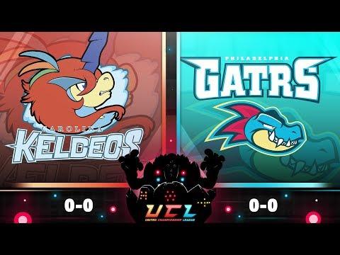 Pokémon USUM Live Wi-Fi Battle [UCL S3W1] Carolina Keldeos vs Philadelphia Feraligatrs!