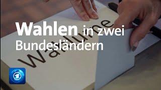 Landtagswahlen In Baden-Württemberg Und Rheinland-Pfalz   Vorabbericht