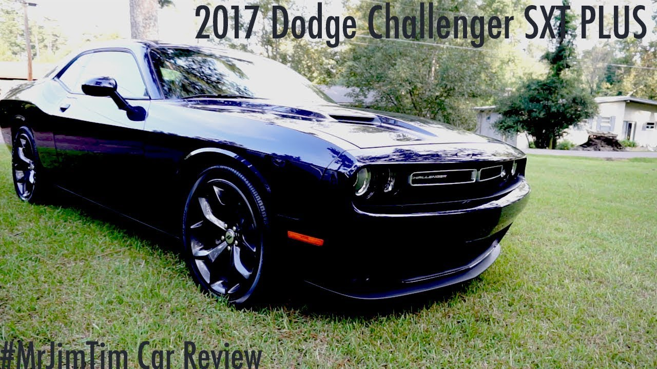 2017 Challenger Sxt Plus Review Youtube