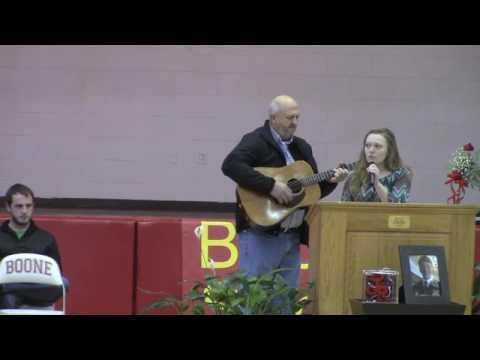 Justin Rose memorial service at Daniel Boone High School. #jcpvideo
