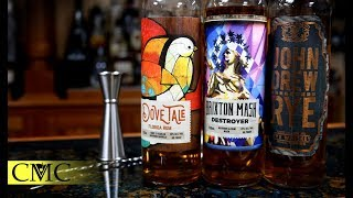 Dove Tale Rum, John Drew Rye and Brixton Mash Destroyer Review