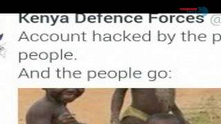 KDF Twitter Account Hacker reclaims victory over the Forces and reveals who it is