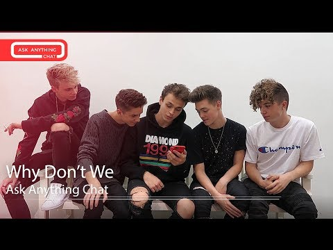 Why Don't We Talk About.  Watch Part 1