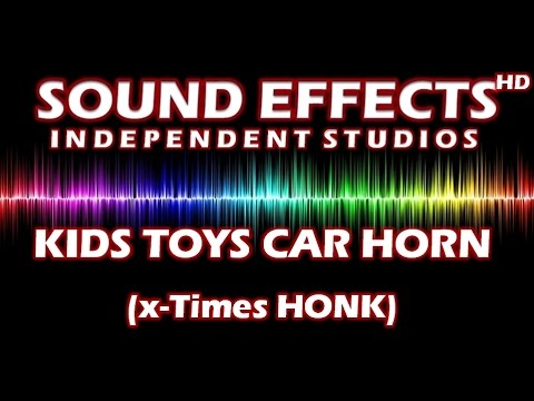 SFX - SOUND EFFECT: KIDS TOYS CAR HORN  (MULTI HONK)