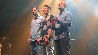 K's Choice - Killing Dragons (a cappella) 12.12.2017 @Rockhal Club, Luxembourg