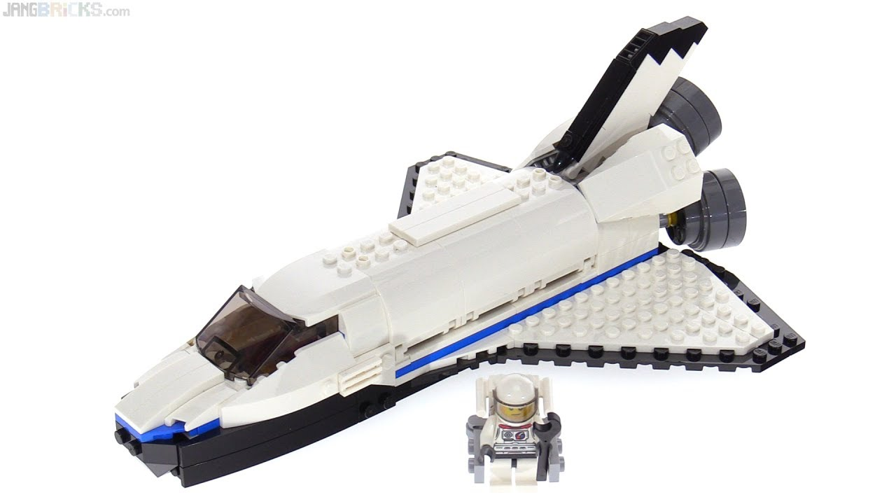 LEGO Creator 3-in-1 Space Shuttle Explorer review! 31066 - YouTube