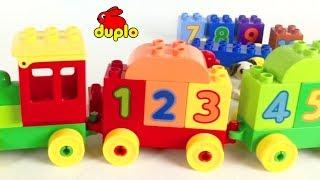 Duplo Treintje Met Nummers 1 t/m 9 Lego Duplo Speelgoed Filmpje Voor Kleuters Nederlands Gesproken