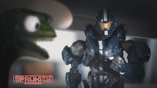 Bandai SpruKits Halo Stop Motion