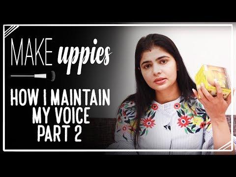 How I Maintain My Voice - Part 2 | Chinmayi Sripada