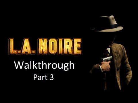 LA Noire Walkthrough: Case 2 [1080p HD] (XBOX 360/PS3) [Gameplay]