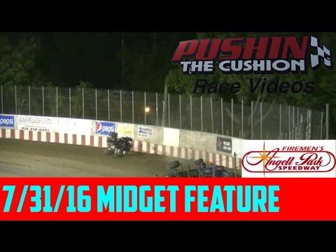 7/31/16 Angell Park Speedway: Midget Feature