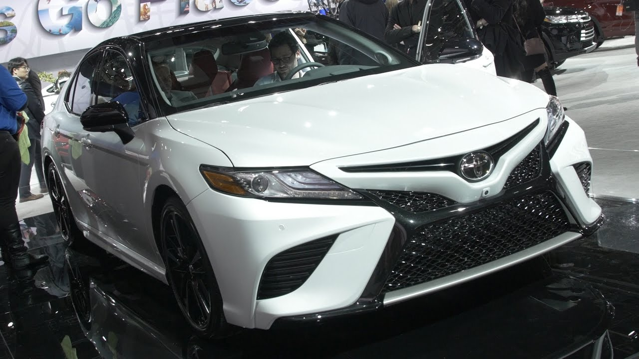 Toyota Camry At The Detroit Auto Show YouTube - Detroit car show 2018 dates