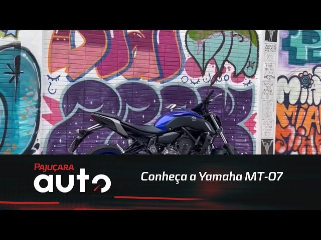 Conheça a Yamaha MT-07