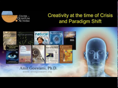 """04-26-2017 Amit Goswami PhD  """"The Answer To Everything"""" 01:40:27"""